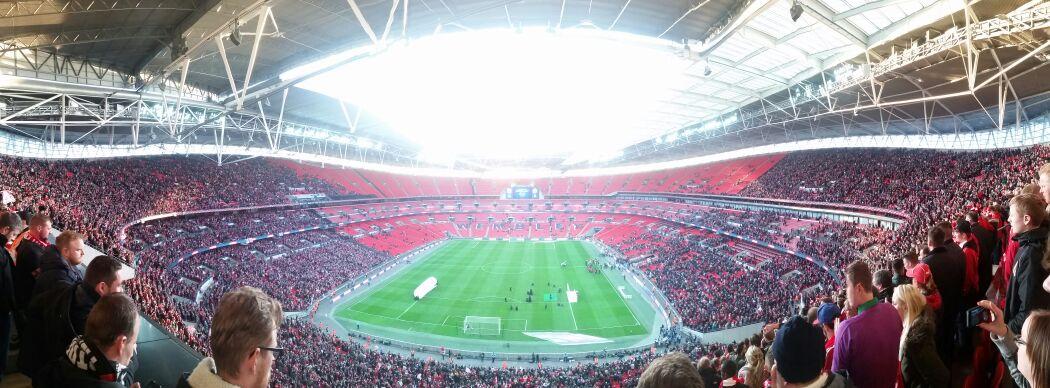Wembley: Bristol City - Walsall FC