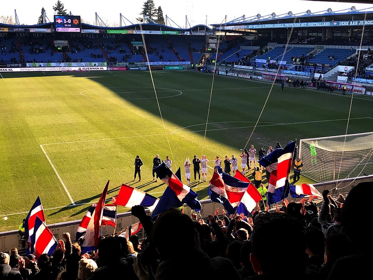 Willem II - Roda JC